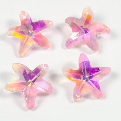 fűzhető Tengeri Csillag Rosaline Pink AB 15 mm