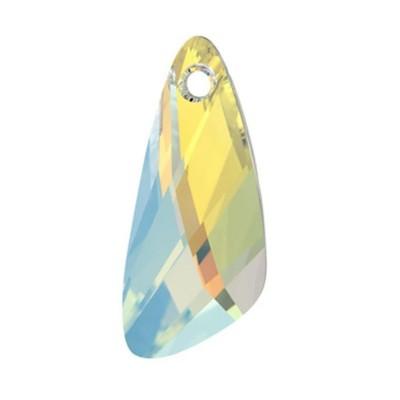 Swarovski 6690 kristály AB szárny medál 27 mm