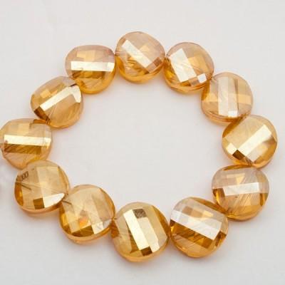 Twist 5621 Golden Shadow fűzhető gyöngy 14mm