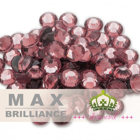 ++ DiamonD ++ Antique Pink MaxBrilliance vasalható kristály, strasszkő