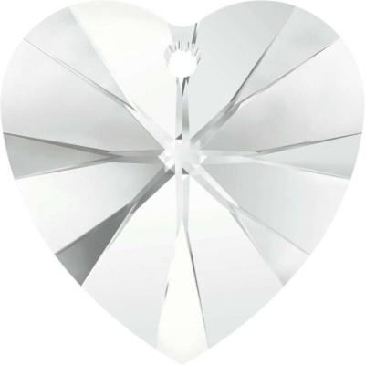 Swarovski 6228 kristály szív medál CRYSTAL 10mm