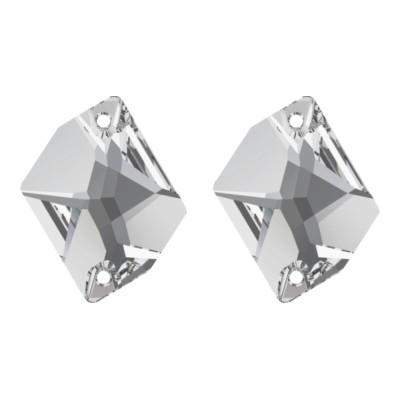 Több minőség! Cosmic 17 mm Crystal varrható üveg kristály