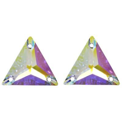 Háromszög Crystal AB, varrható csiszolt üveg kristály