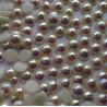 1,6 mm Crystal AB White Pearl félgyöngy