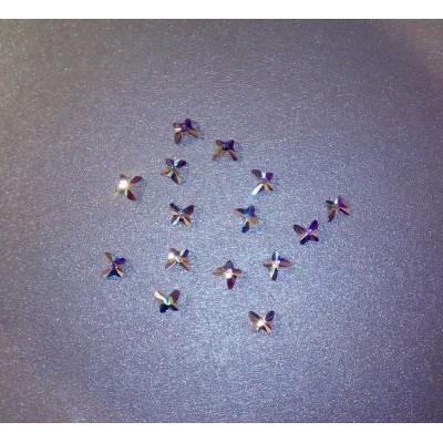 ++ DiamonD ++ Pillangó kristály AB MaxBrilliance vasalható strasszkő