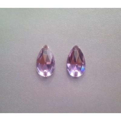 + DiamonD + Csepp Violet Pink mix varrható üveg kristály