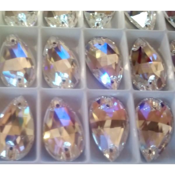 + DiamonD + Csepp Crystal Shimmer varrható üveg kristály