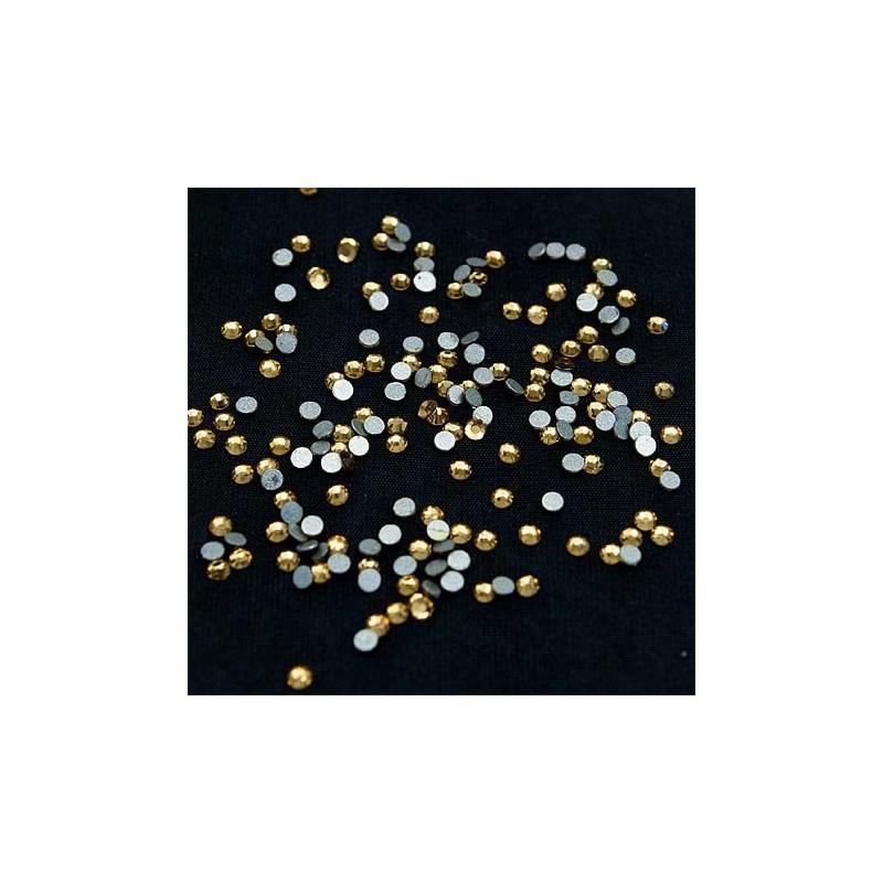Köröm Strassz Light Topaz - - Műkörmös kristály NAIL ART